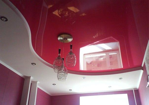 двухуровневые потолки в Рязани