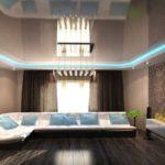 Светопрозрачные потолки с подсветкой